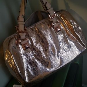 Authentic Michael Kors rose gold bag